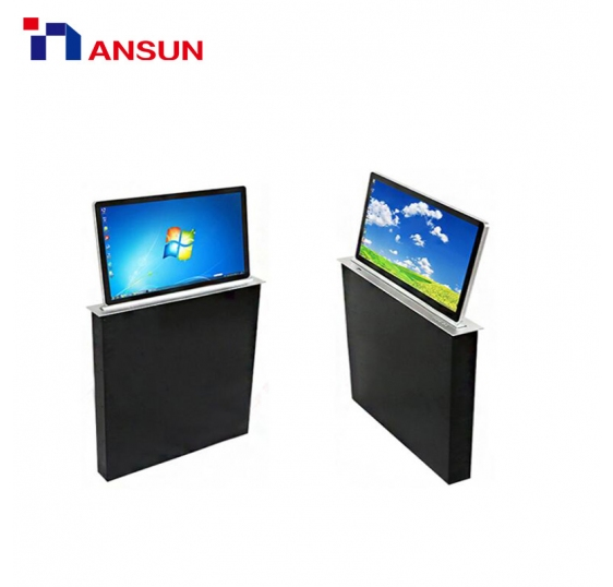 Motorized Pop Up LCD Monitor with Lift